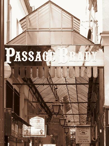 Photo du Monument Historique Passage Brady situé à Paris 10e Arrondissement