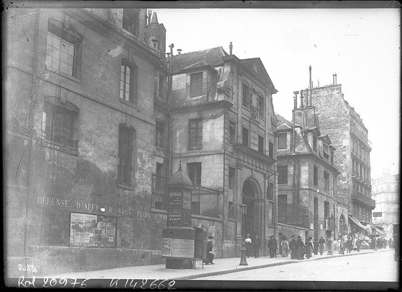Photo du Monument Historique Ancienne prison Saint-Lazare, devenue hôpital Saint-Lazare situé à Paris 10e Arrondissement