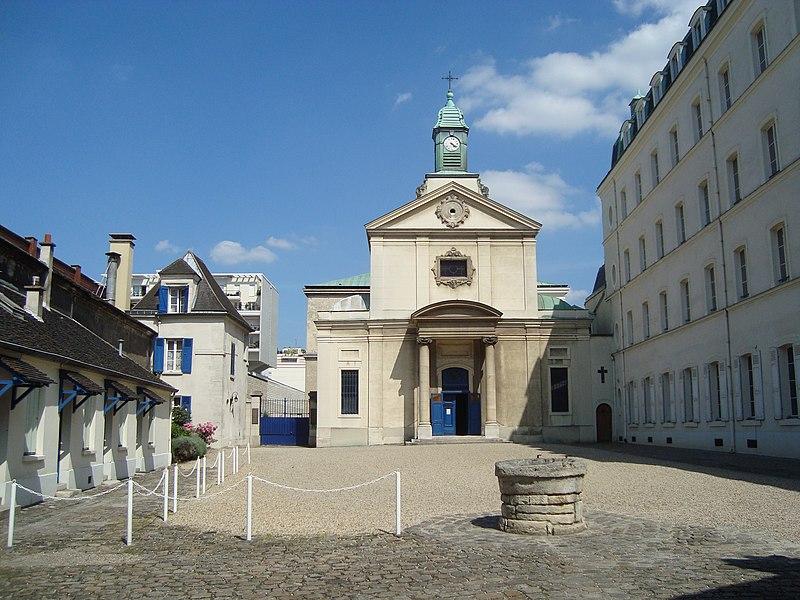 Photo du Monument Historique Cimetière de Picpus et ancien couvent des chanoinesses de Picpus situé à Paris 12e Arrondissement
