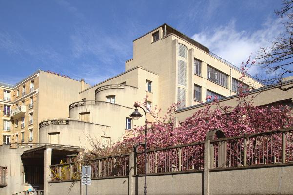 Photo du Monument Historique Groupe scolaire situé à Paris 13e Arrondissement