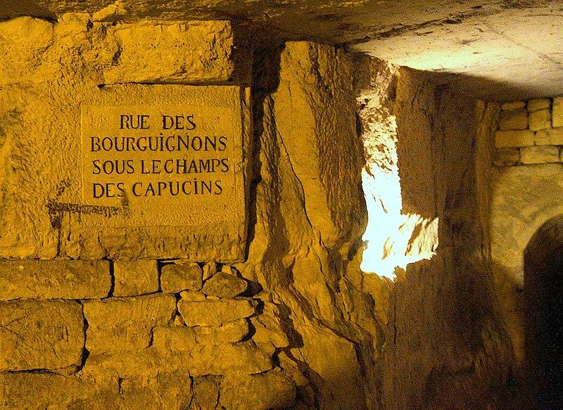 Photo du Monument Historique Carrière des Capucins situé à Paris 13e Arrondissement