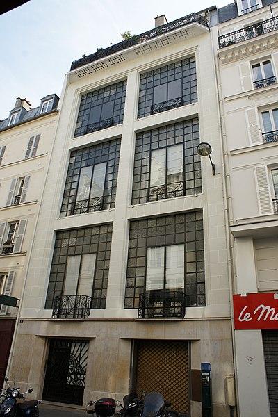 Photo du Monument Historique Immeuble Studio Hôtel situé à Paris 14e Arrondissement