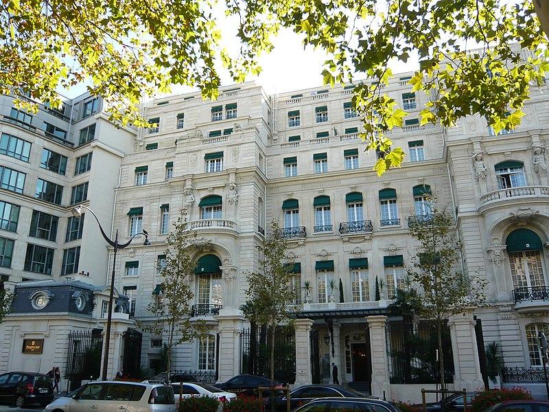 Photo du Monument Historique Ancien hôtel particulier de Roland Bonaparte situé à Paris 16e arrondissement