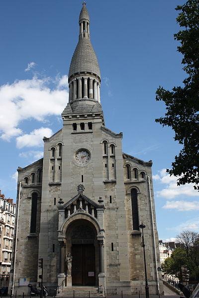 Photo du Monument Historique Église Notre-Dame-d'Auteuil situé à Paris 16e arrondissement