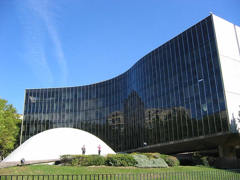 Photo du Monument Historique Immeuble abritant le siège du Parti Communiste Français situé à Paris 19e Arrondissement
