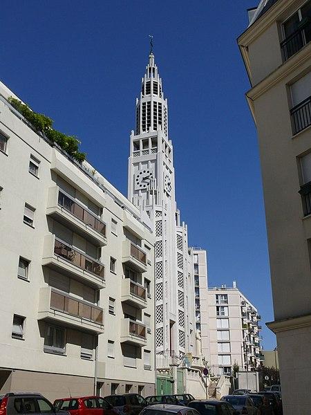 Photo du Monument Historique Eglise Saint-Jean-Bosco situé à Paris 20e Arrondissement