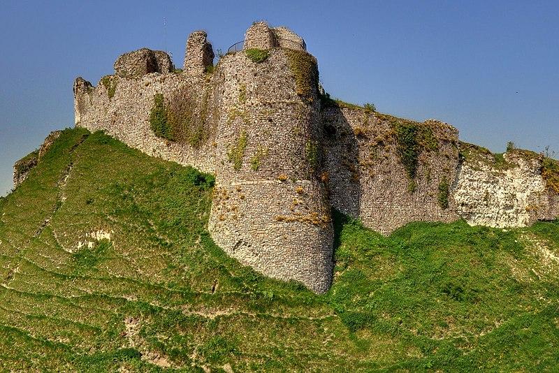 Photo du Monument Historique Ruines du château situé à Arques-la-Bataille