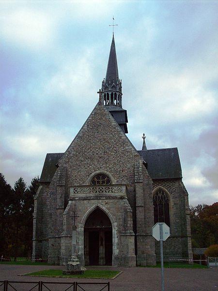 Photo du Monument Historique Eglise situé à Blainville-Crevon