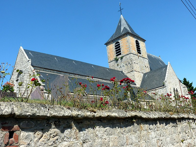 Photo du Monument Historique Eglise Saint-Martin situé à Bonsecours