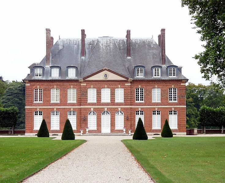 Photo du Monument Historique Château situé à Bois-Héroult