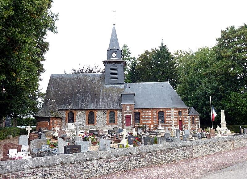 Photo du Monument Historique Eglise situé à Bois-Héroult