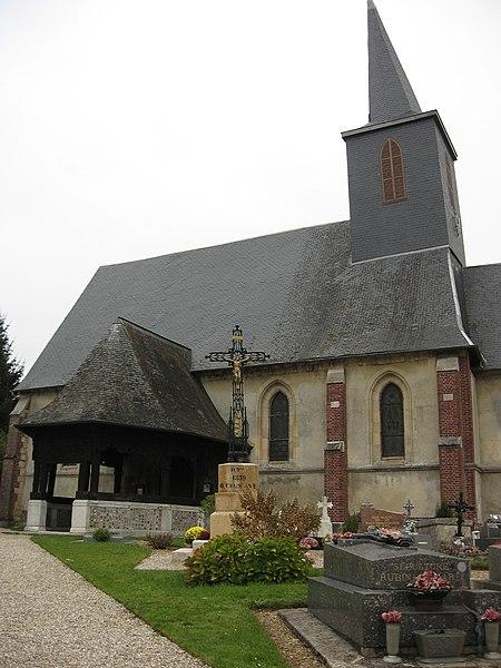 Photo du Monument Historique Eglise situé à Bosc-Bordel