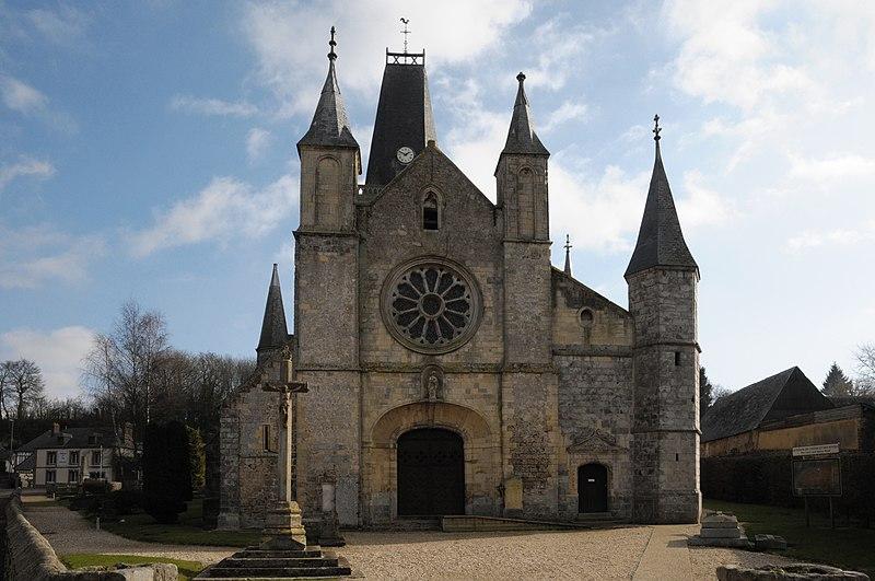 Photo du Monument Historique Eglise Notre-Dame situé à Bourg-Dun (Le)