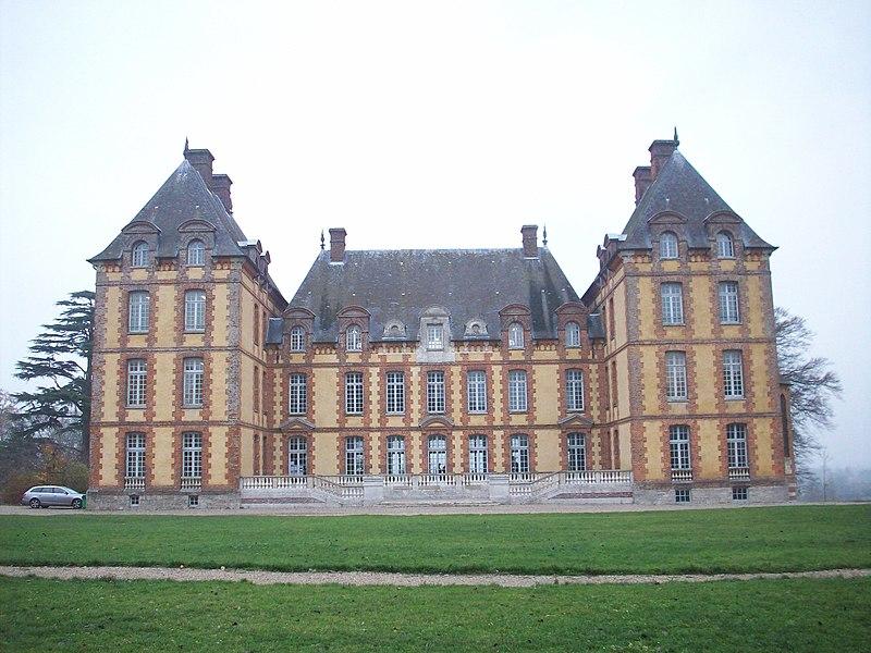 Photo du Monument Historique Château de Merval, actuellement lycée agricole situé à Brémontier-Merval