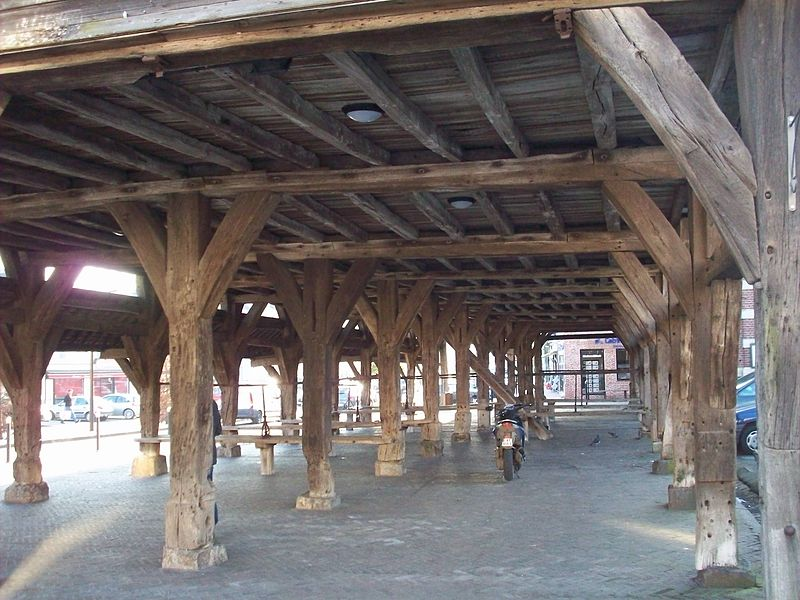 Photo du Monument Historique Anciennes halles situé à Buchy