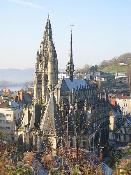 Photo du Monument Historique Eglise Notre-Dame situé à Caudebec-en-Caux