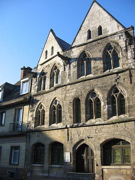 Photo du Monument Historique Maison dite des Templiers, actuellement musée Biochet-Brechot situé à Caudebec-en-Caux