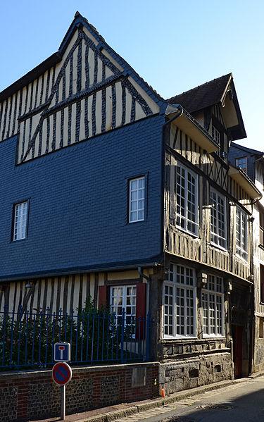 Photo du Monument Historique Immeuble situé à Caudebec-en-Caux