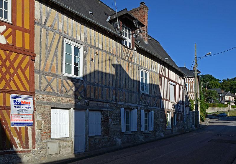 Photo du Monument Historique Maison situé à Caudebec-en-Caux