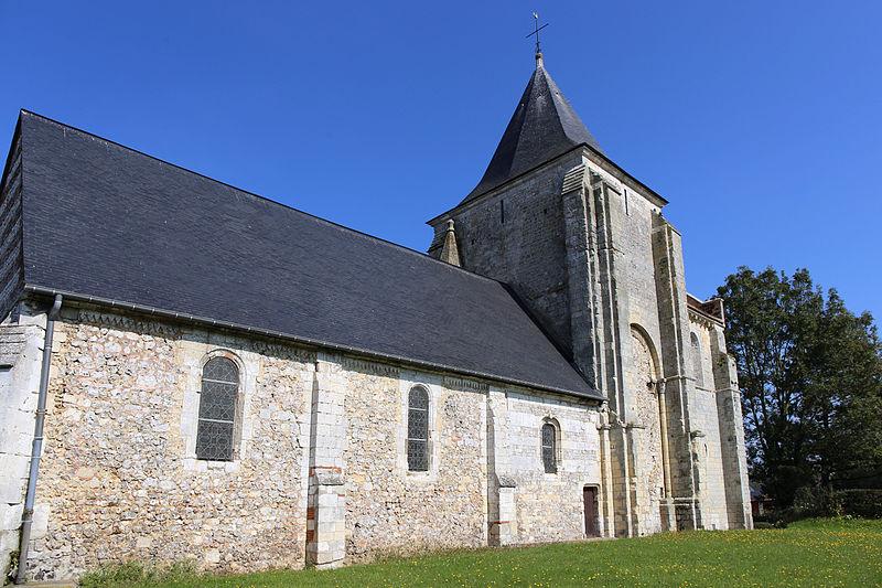 Photo du Monument Historique Eglise paroissiale Saint-Jean d'Abbetot situé à Cerlangue (La)