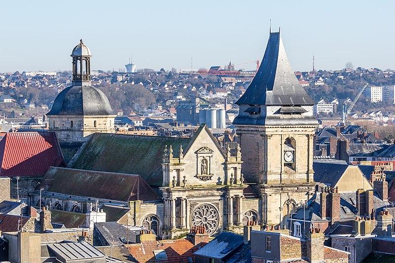 Photo du Monument Historique Eglise Saint-Rémy situé à Dieppe
