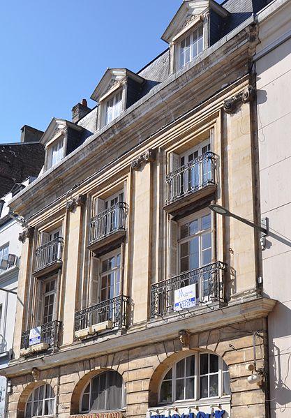 Photo du Monument Historique Hôtel dit de l'Amirauté situé à Dieppe