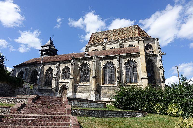 Photo du Monument Historique Eglise Saint-Etienne situé à Elbeuf