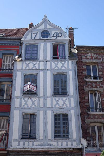 Photo du Monument Historique Maison situé à Elbeuf