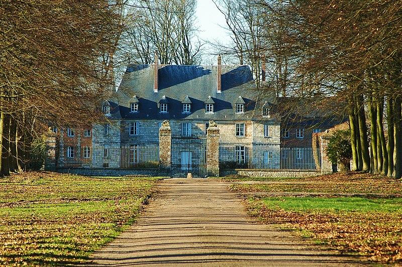 Photo du Monument Historique Château d'Arnouville situé à Ermenouville
