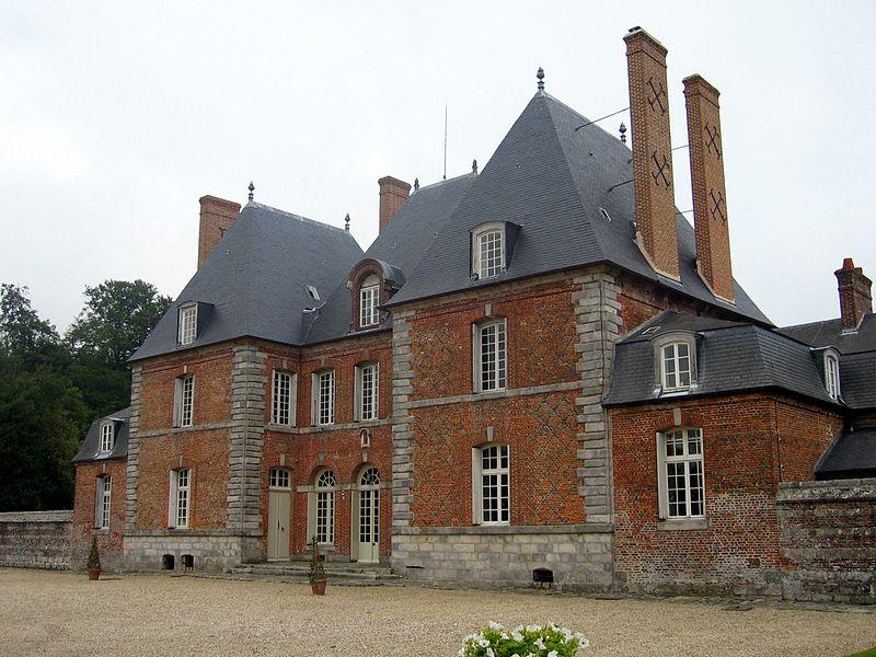 Photo du Monument Historique Château de Mesnil-Geoffroy situé à Ermenouville