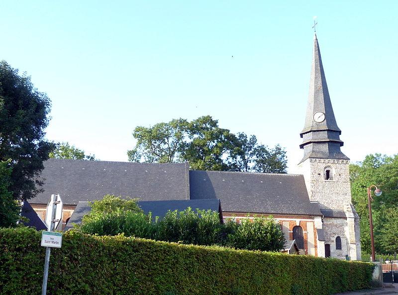 Photo du Monument Historique Eglise situé à Ecalles-Alix