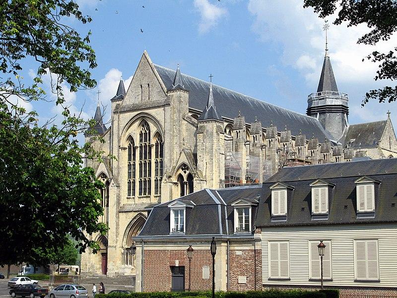 Photo du Monument Historique Collégiale Notre-Dame et Saint-Laurent situé à Eu