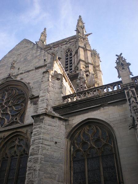 Photo du Monument Historique Eglise Saint-Etienne situé à Fécamp