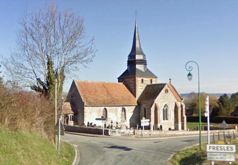 Photo du Monument Historique Eglise situé à Fresles