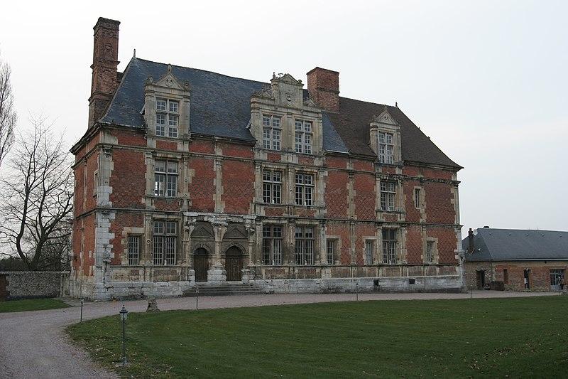 Photo du Monument Historique Manoir de Bévilliers situé à Gonfreville-l'Orcher