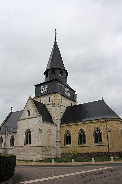 Photo du Monument Historique Eglise Saint-Pierre situé à Le Grand-Quevilly