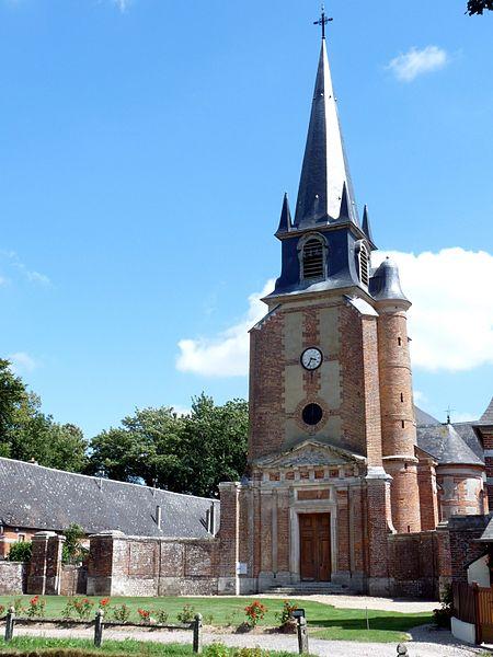 Photo du Monument Historique Eglise Saint-Pierre-Saint-Paul situé à Grémonville