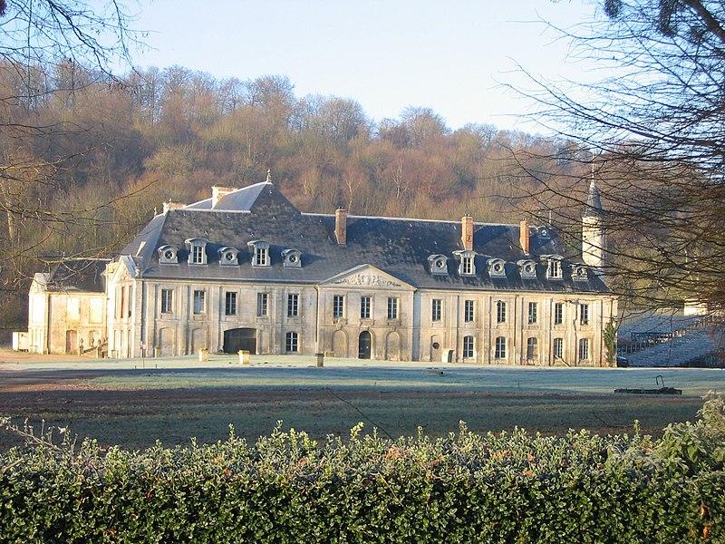 Photo du Monument Historique Château de Valasse ou ancienne abbaye Notre-Dame du Voeu situé à Gruchet-le-Valasse
