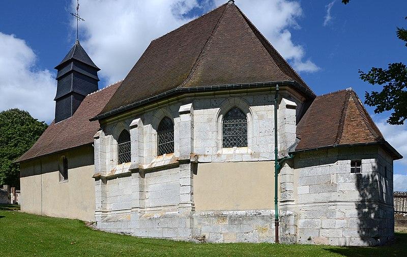 Photo du Monument Historique Cimetière situé à Hautot-sur-Seine