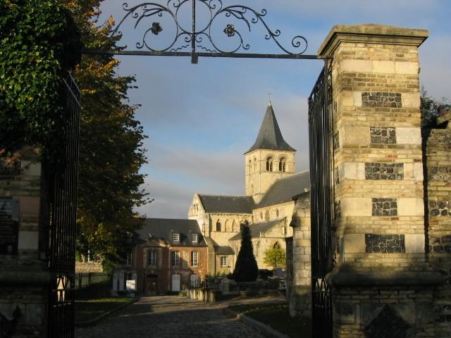 Photo du Monument Historique Ancien prieuré de Graville ou ancienne abbaye de Sainte-Honorine situé à Le Havre