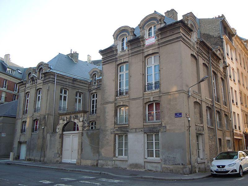 Photo du Monument Historique Hôtel de Brocques situé à Havre (Le)