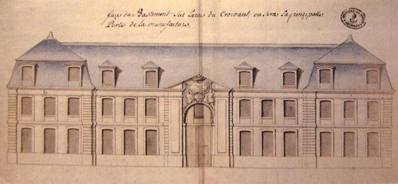 Photo du Monument Historique Manufacture des Tabacs situé à Le Havre