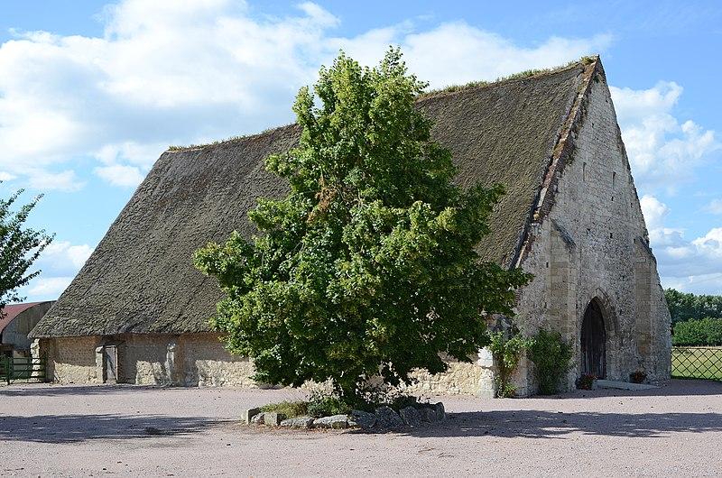 Photo du Monument Historique Grange aux dîmes situé à Heurteauville