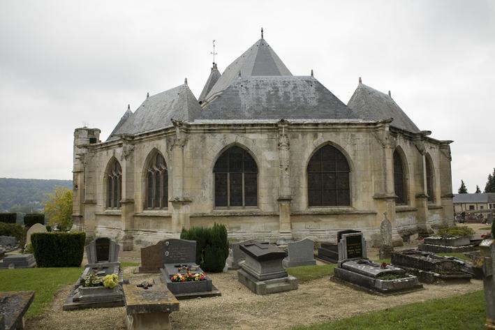 Photo du Monument Historique Eglise Saint-Valentin situé à Jumièges