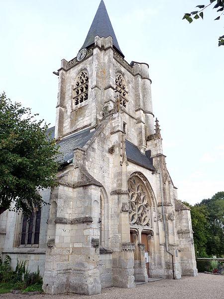 Photo du Monument Historique Eglise situé à La Mailleraye-sur-Seine
