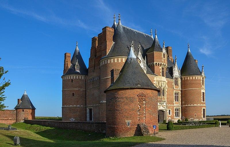 Photo du Monument Historique Château de Martainville situé à Martainville-Epreville