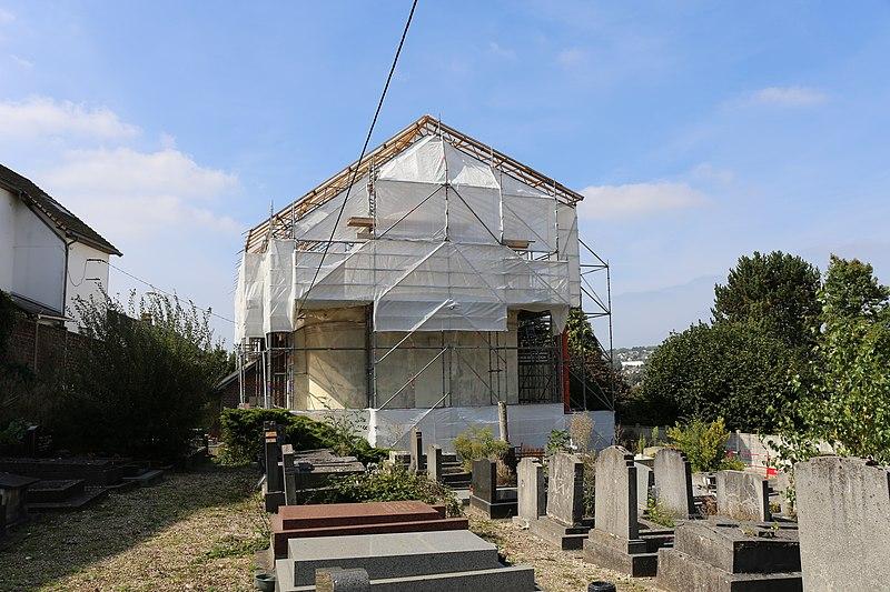 Photo du Monument Historique Temple protestant situé à Montivilliers