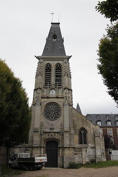 Photo du Monument Historique Eglise Saint-Thomas-du-Mont-aux-Malades situé à Mont-Saint-Aignan