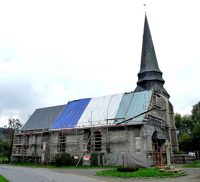Photo du Monument Historique Eglise situé à Muchedent