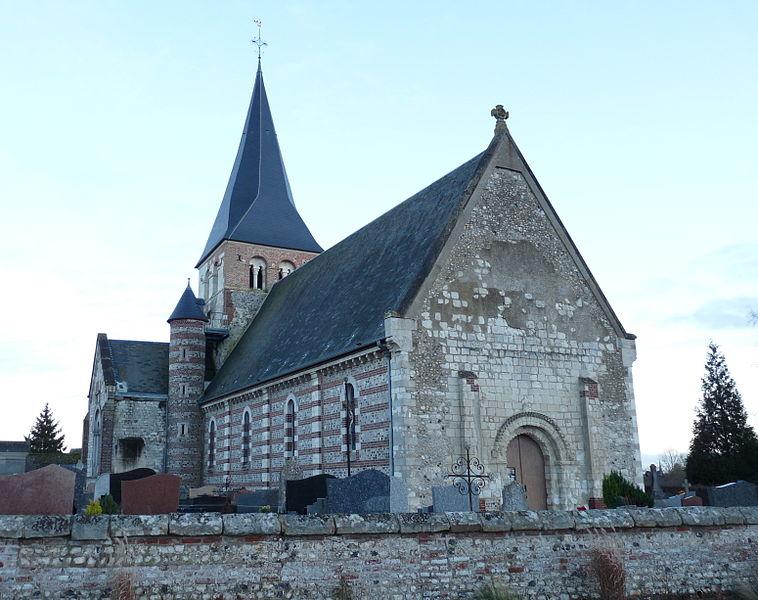 Photo du Monument Historique Eglise d'Osmoy situé à Osmoy-Saint-Valery